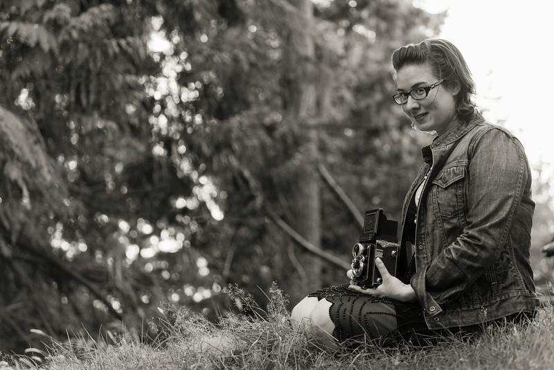 Vintage portrait photo shoot